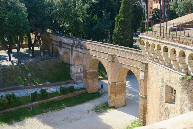 Passetto di Borgo Castel Sant Angelo Rome Italy