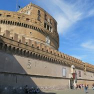 Ramparts Castel Sant Angelo Rome Italy