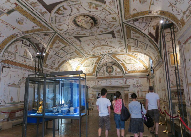 Room of Apollo Angels Castel Sant Angelo Rome Italy