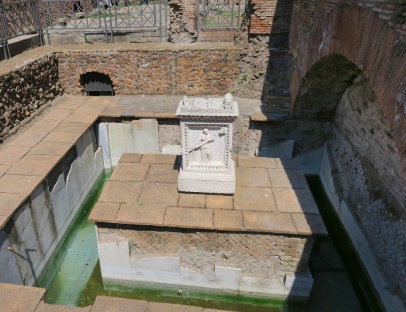 Spring of Juturna Roman Forum Italy