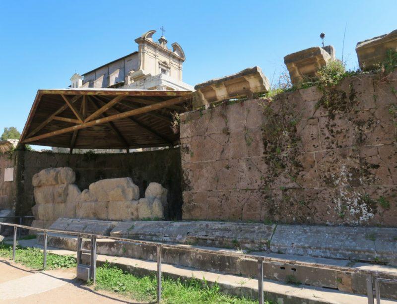 Temple of Caesar Roman Forum Italy