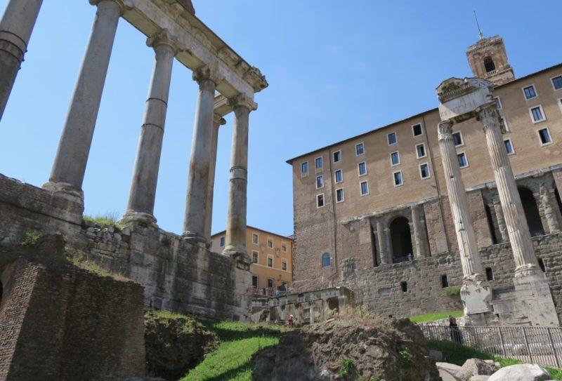 Temple of Saturn Roman Forum Italy