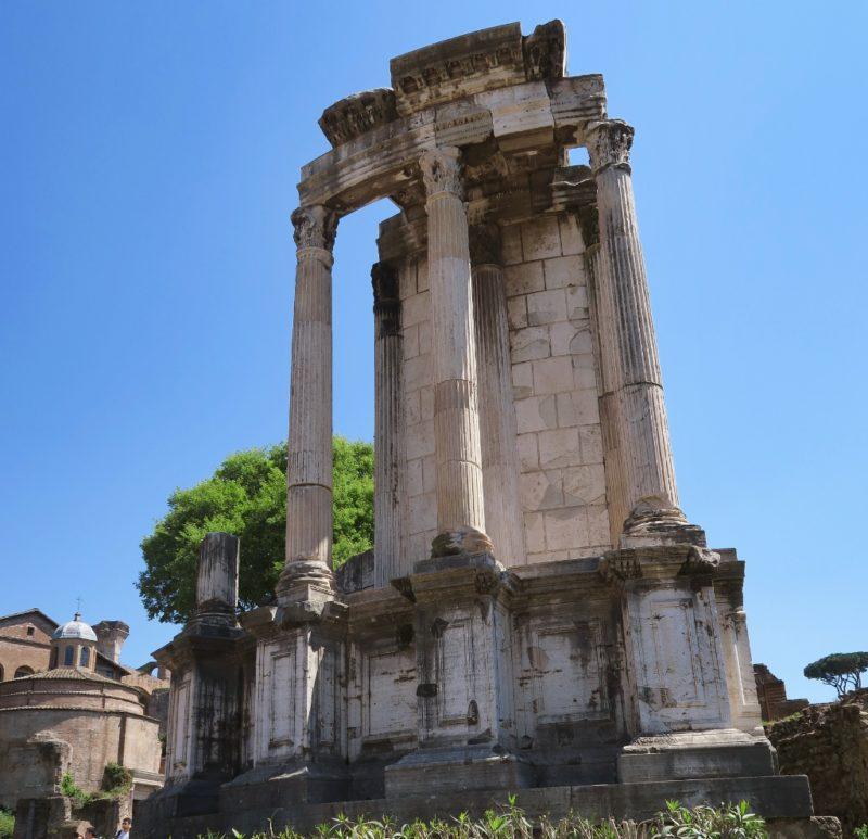 Temple of Vesta Roman Forum Italy