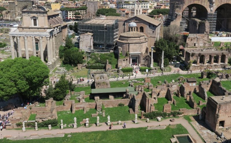 The House of the Vestal Virgins Roman Forum Italy