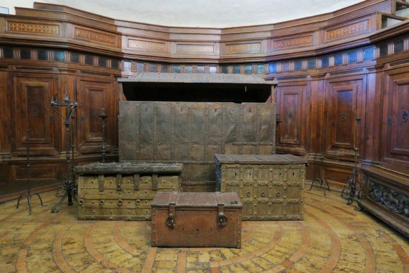 The Treasury Room Castel Sant Angelo Rome Italy