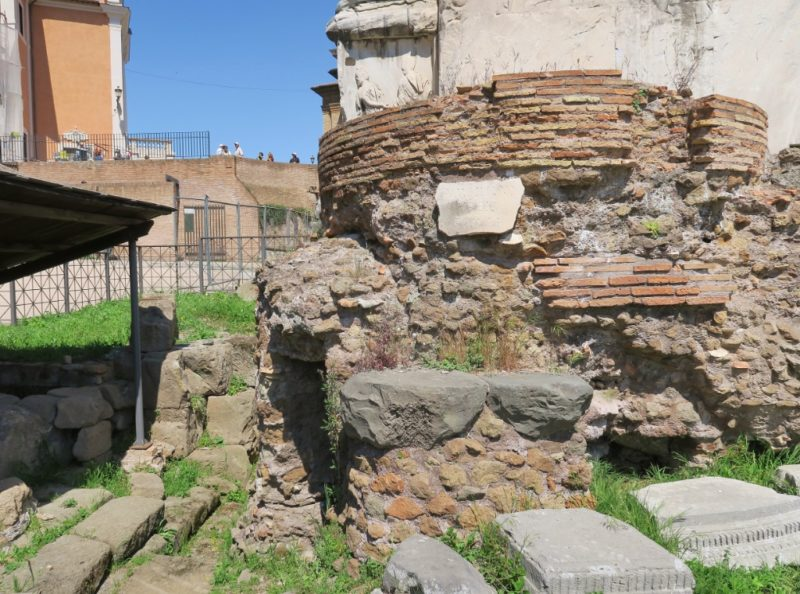 Umbilicus Urbis Roman Forum Italy