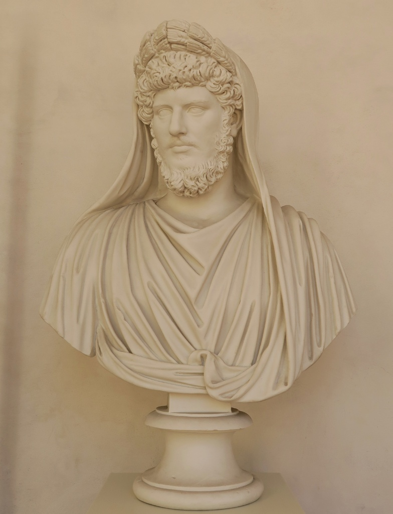 Bust of Lucius Verus Baths of Diocletian Rome Italy