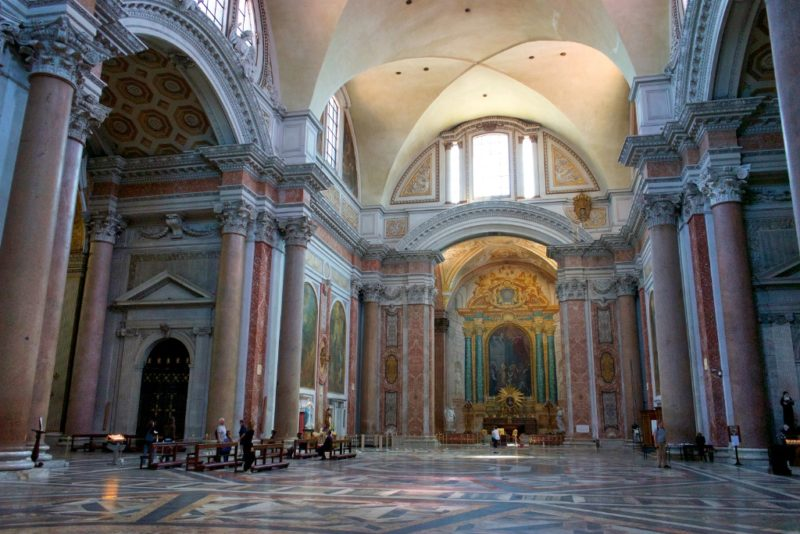 Chapel of Niccolo Albergati Basilica Saint Mary of the Angels and Martyrs Rome Italy