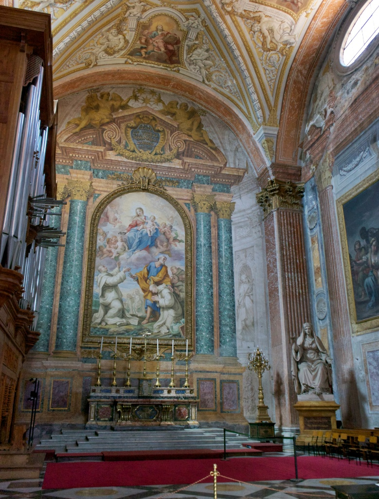 Chapel of Saint Bruno Basilica Saint Mary of the Angels and Martyrs Rome Italy