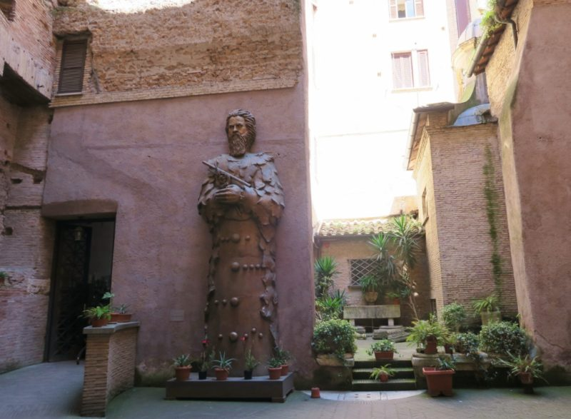 Galileo Galilei Divine Man Tsung Dao Lee Basilica Saint Mary of the Angels and Martyrs Rome Italy