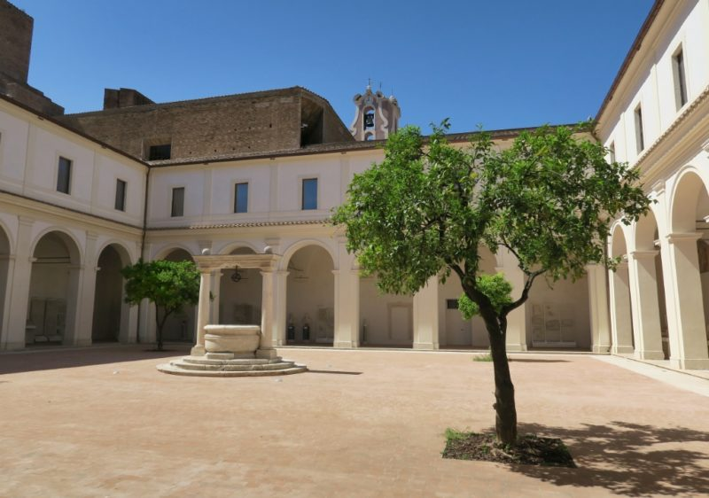 Ludovisi Courtyard Baths of Diocletian Rome Italy
