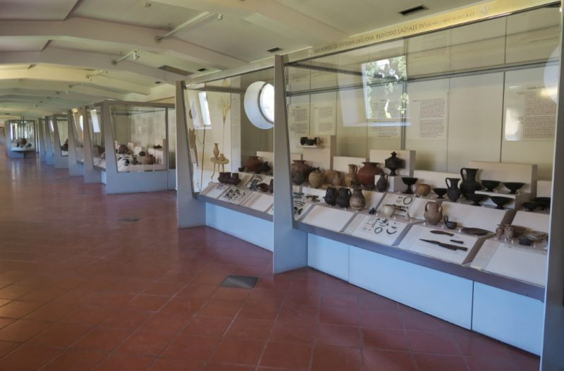 Protohistory Exhibit Baths of Diocletian Rome Italy
