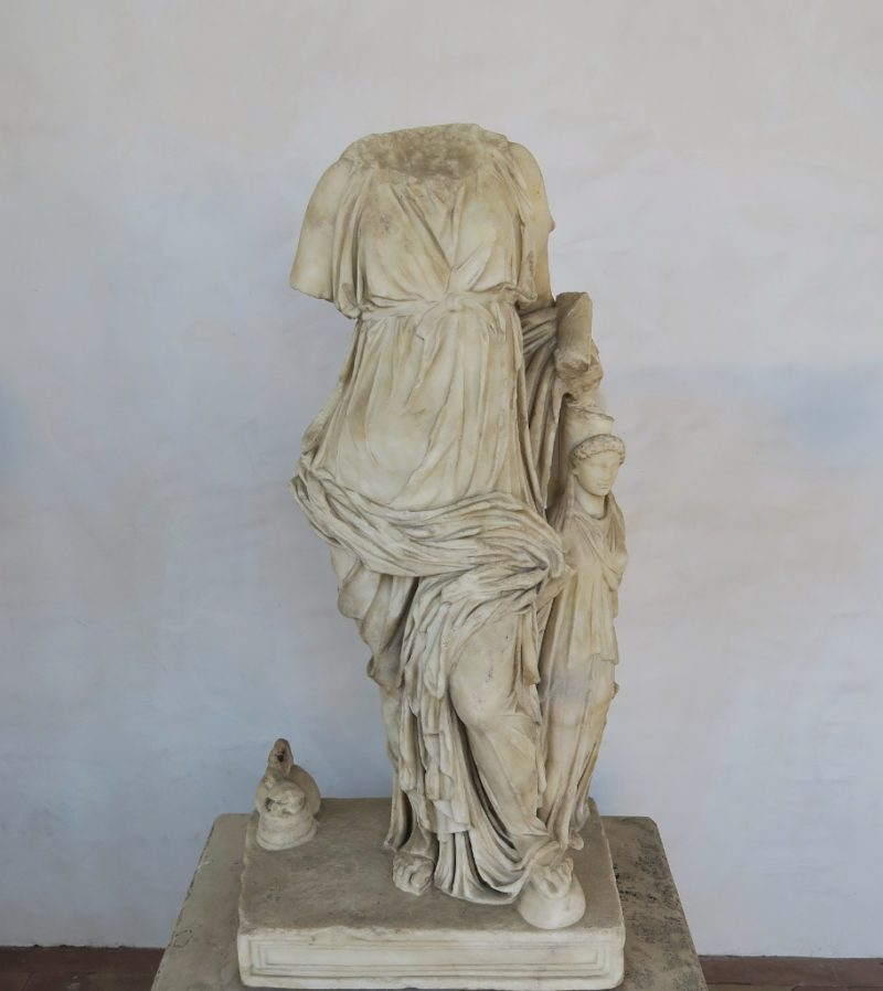 Statue of Aphrodite Fortune Baths of Diocletian Rome Italy