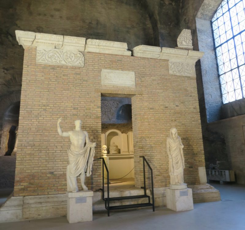 Tomb of the Platorini Baths of Diocletian Rome Italy
