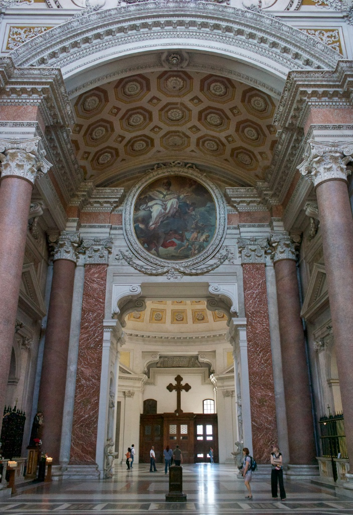 Vestibule Saint Mary of the Angels and Martyrs Rome Italy