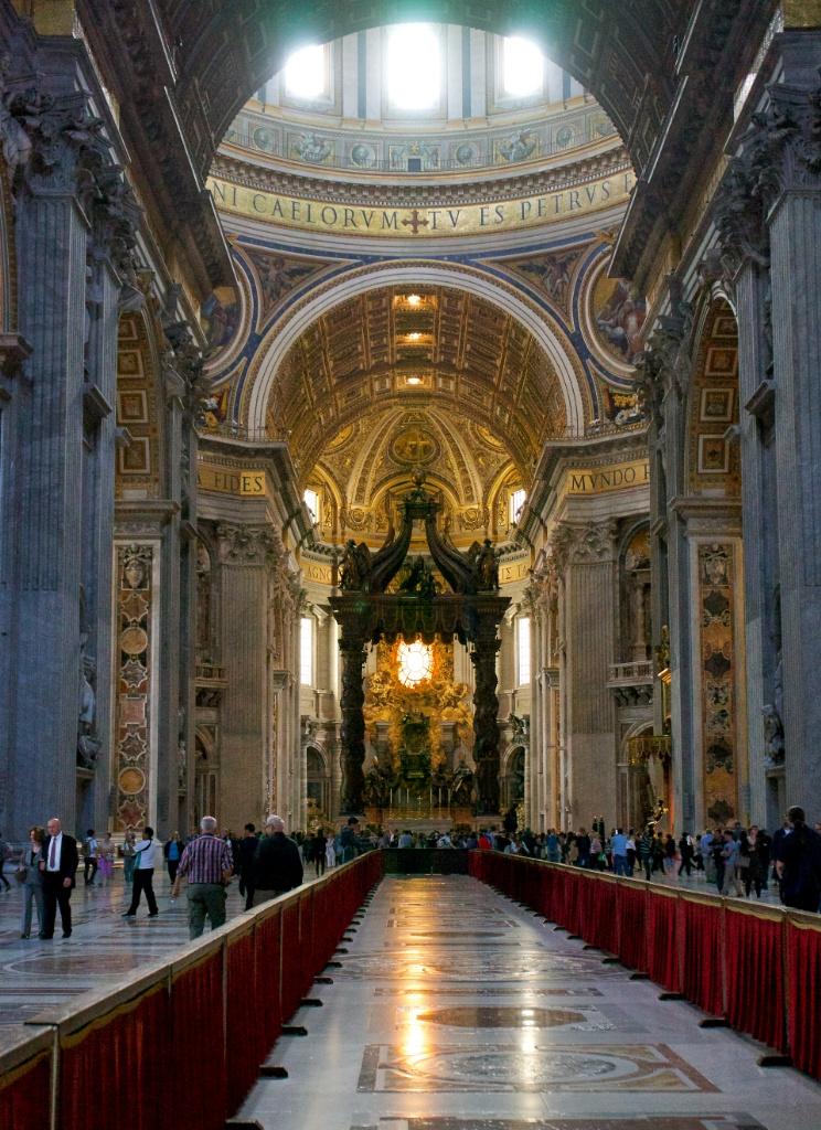 Visit The Basilica Of Saint Peter