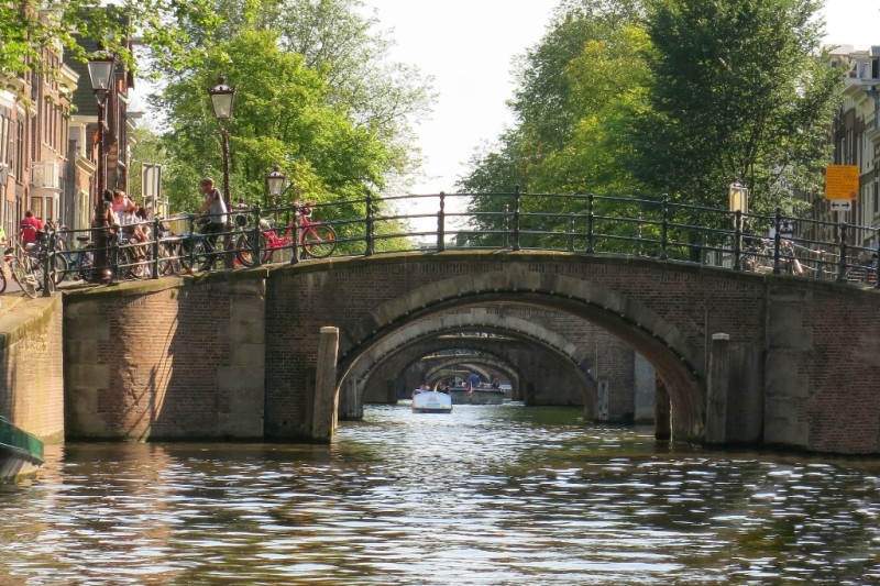 Things To Do In Amsterdam Take A Small Boat Canal Cruise